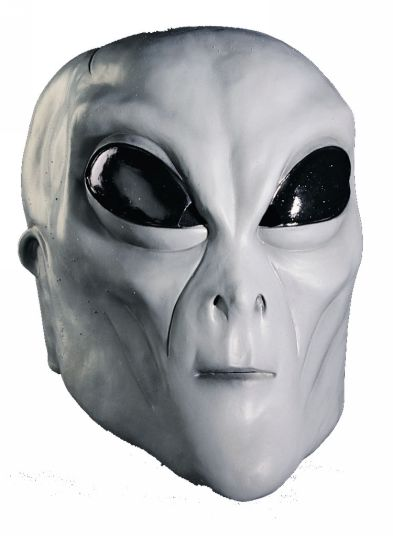 adult grey alien mask men halloween costumes