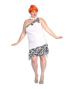 Wilma Flintstone Womens plus size Costume