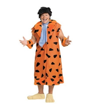 Fred Flintstone Mens Costume plus size
