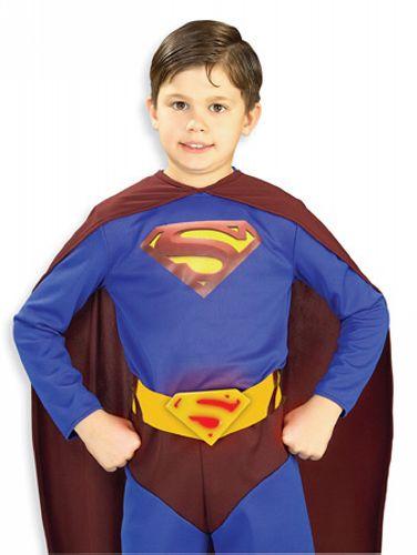 Superman Returns Kids Lite-up Belt  sc 1 st  Wonder Costumes & Superman Returns Kids Lite - Boys Costume