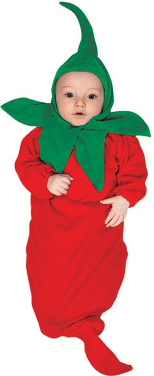 Chili Pepper Newborn Costume