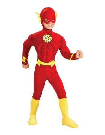 Flash Muscle Kids Costume