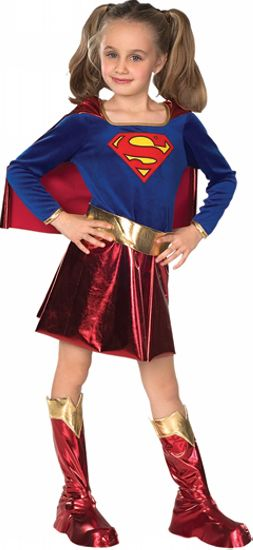Kids Super Girl Movie Girls Costume