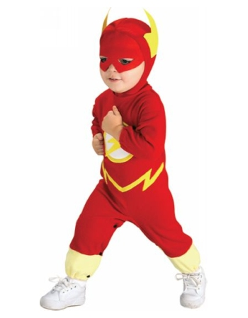 Flash Baby Movie Superhero Costume - Movie Costumes