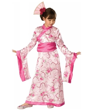 Asian Princess Kids Costume