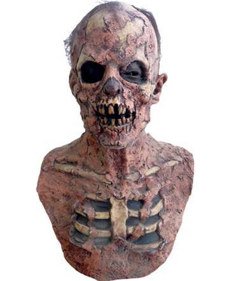Zombie Ground Breaker Mask Men S Halloween Accessories