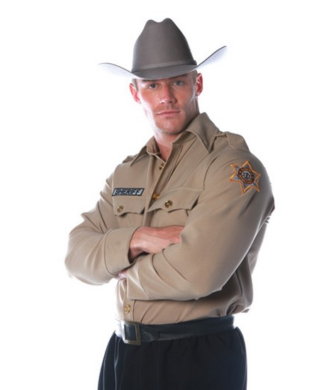 Sheriff Shirt  Costume