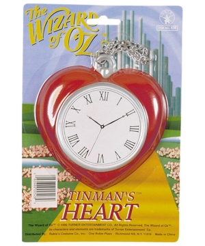 Heart Clock - Accessories the Wizard of Oz