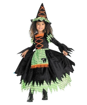 Storybook Witch Kids Costume