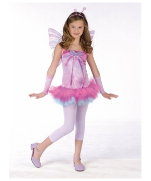 Fluttery Butterfly Costume - Kids Costume