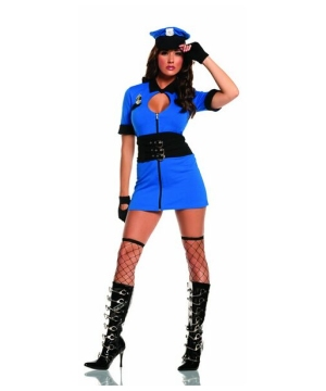 Intriguing Interrogator Women Costume