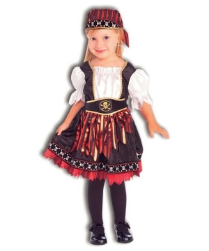Little Pirate Cutie Kids Costume