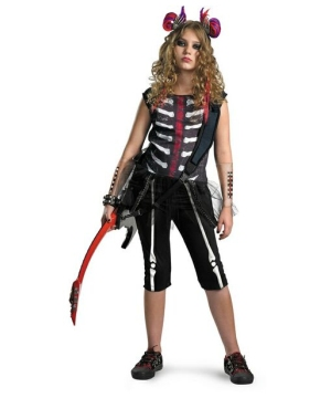 Misfit Punk Kids Costume