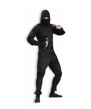 Black Ninja Adult Costume