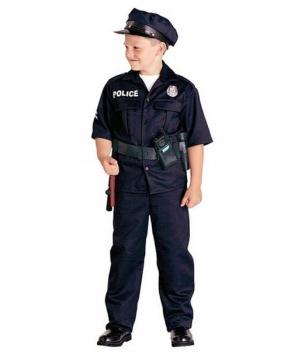 Police Officer Boys Costume  sc 1 st  Wonder Costumes & Police Officer Costume for Kids - Boys Officer Costumes
