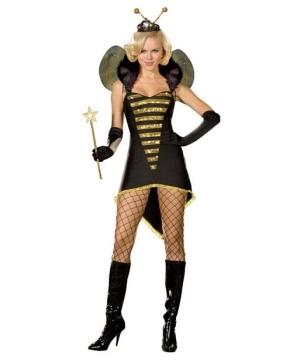 sexy queen bee adult costume
