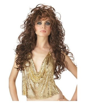 Seduction Curls Wig Brown