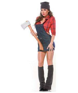 Adult Sexy Lumberjack Costume Women Sexy Costumes