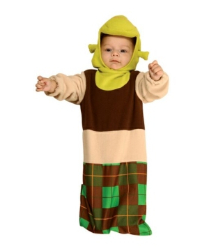 Shrek Bunting Newborn Costume  sc 1 st  Wonder Costumes & Shrek Costume u0026 Shrek Character Costumes and Accessories