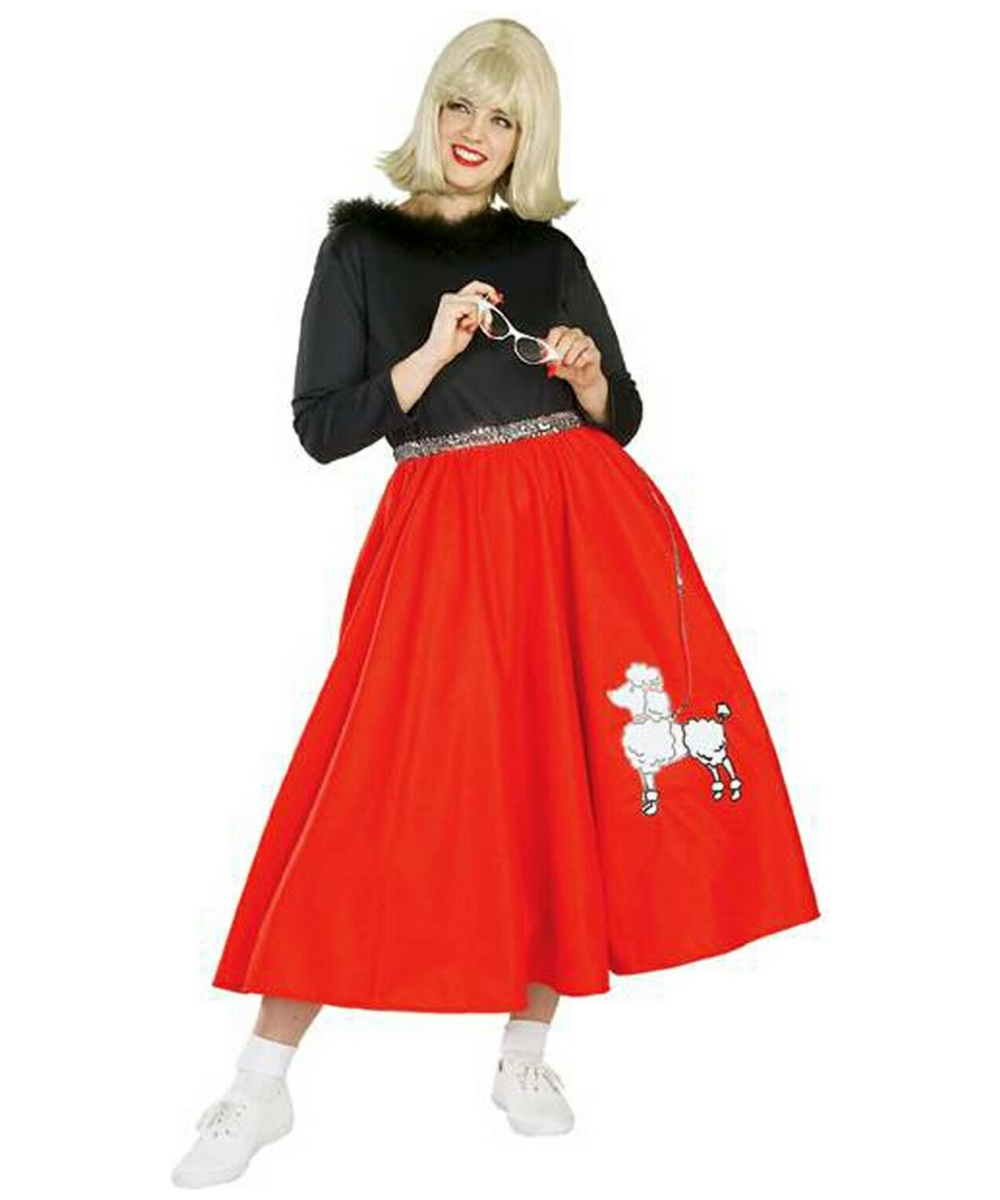 sc 1 st  Halloween Costumes & Adult 50s Poodle Babe plus size Costume - Women Poodle Costumes