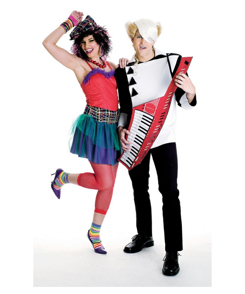New Wave Singer Adult Costume Halloween Costumes