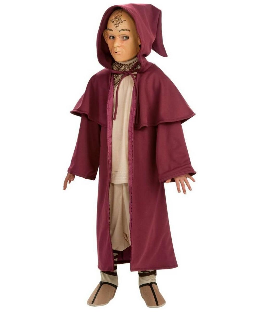 The Last Airbender Aang Cloak Kids Movie Halloween Costume