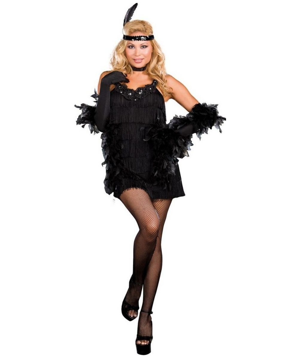 All That Jazz Costume - Adult Costume Plus Size - Halloween Costume At Wonder Costumes
