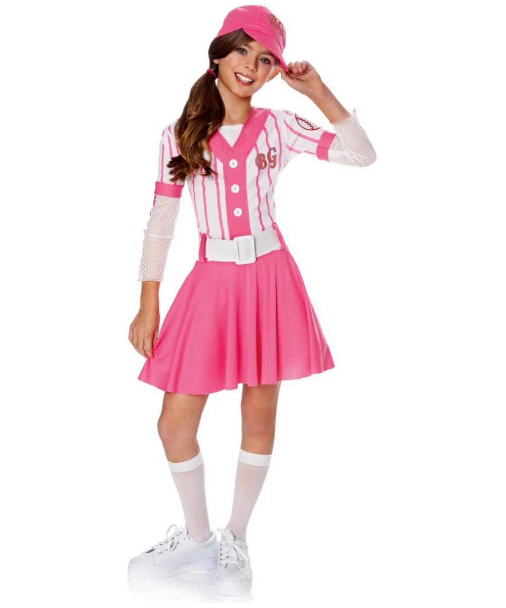 Baseball Kids Costume - Girl Sports Costumes