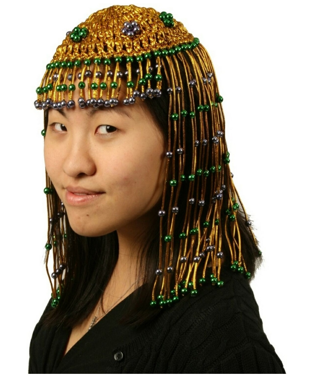 Beaded Headpiece - Adult Accessory - at Wonder Costumes