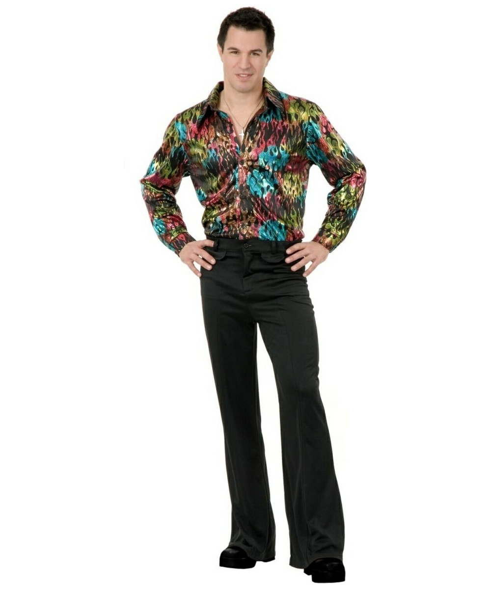 Adult Black Disco Pants - Men Disco Costumes