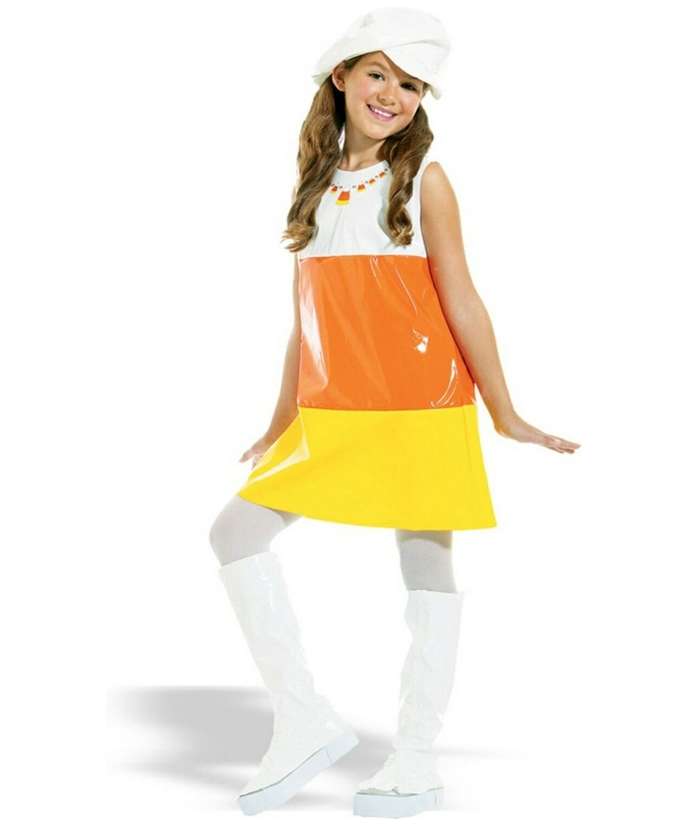 sc 1 st  Wonder Costumes & Candy Corn Kids Costume - Girl Candy Corn Costumes