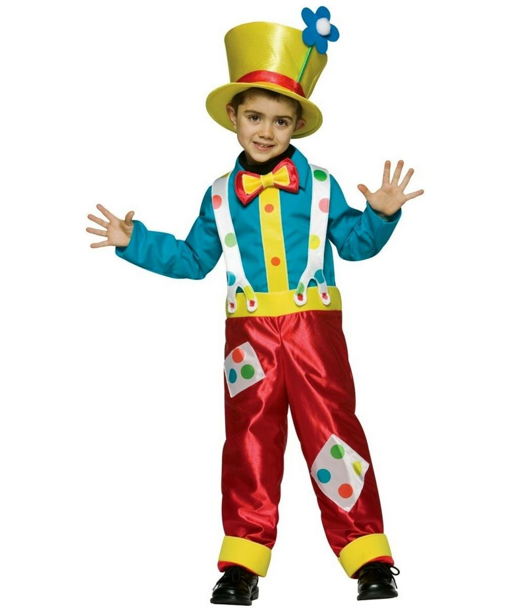 Clown Boys Costume Boy Costumes