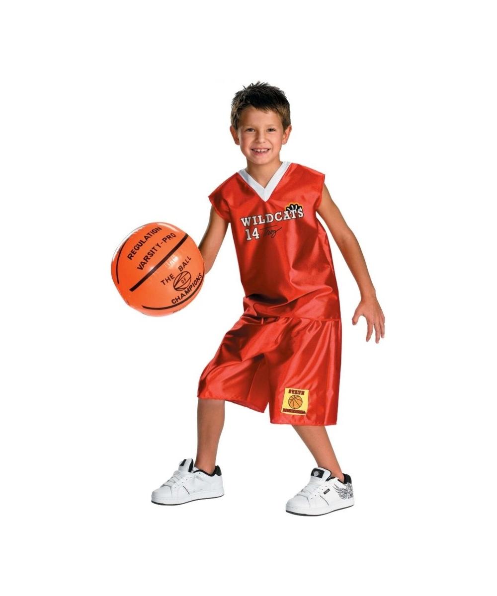 Kids Troy Basketball Disney Costume Boys Costume