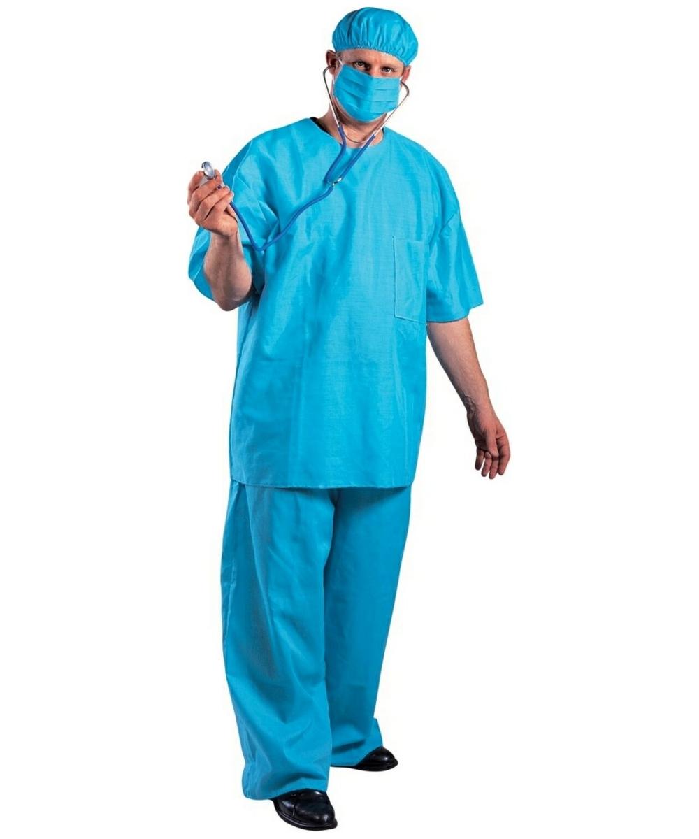 Adult Doctor Dan Costume Men Doctor Costumes