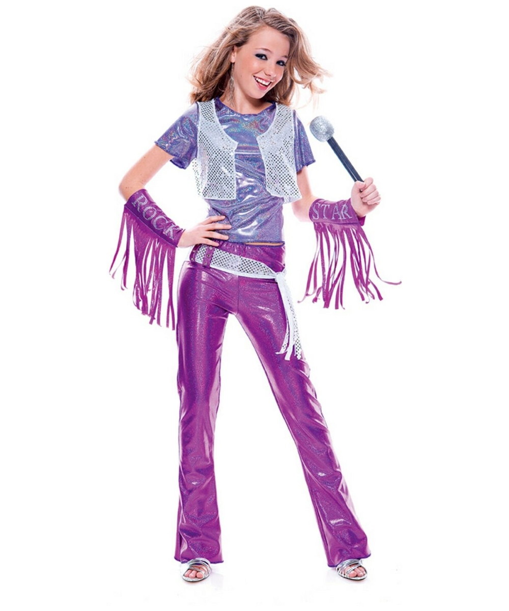 dramarama glam rock star childteen costume teenager halloween costume at wonder costumes