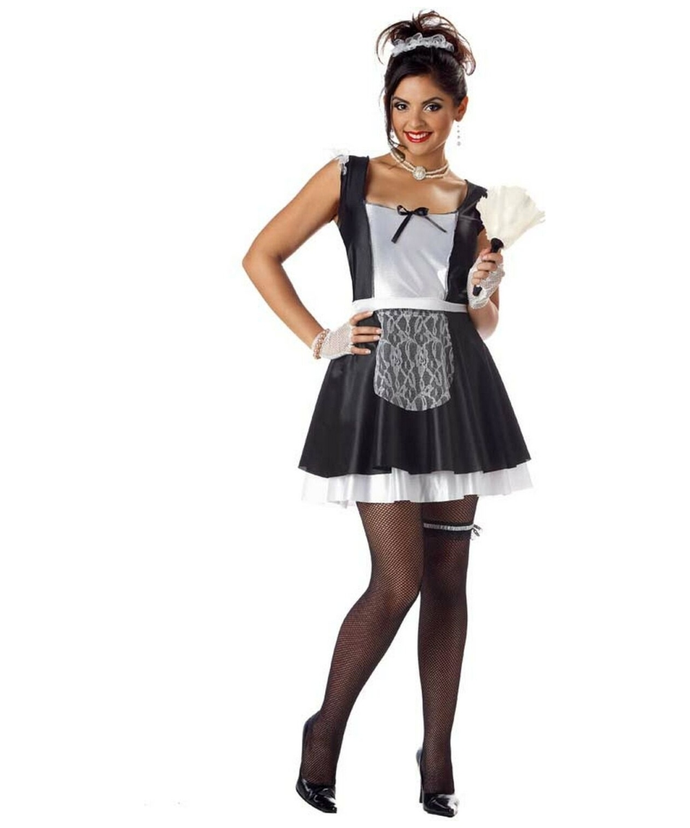 Adult French Maid Costume Scary Halloween Costumes