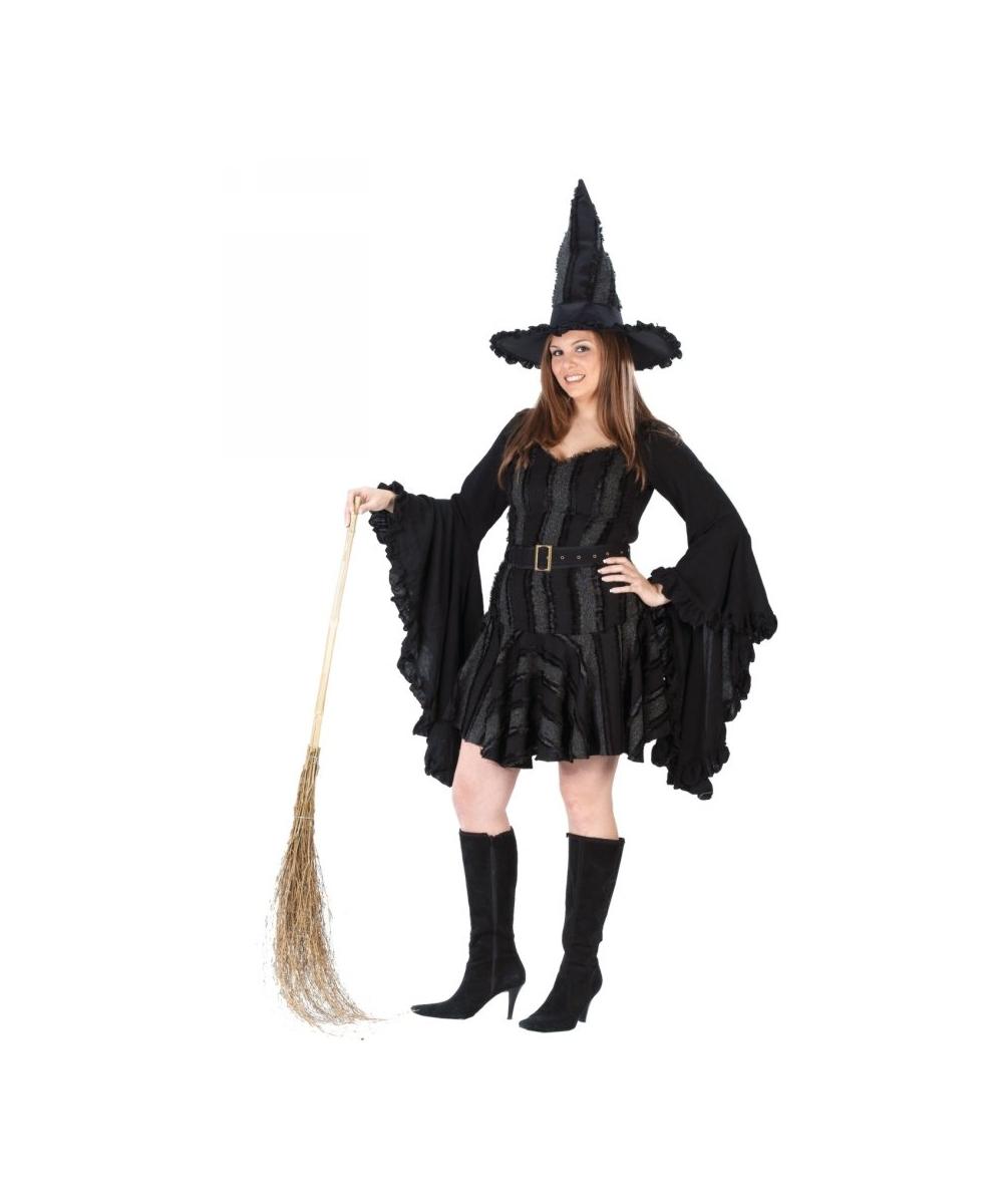 sc 1 st  Halloween Costumes & Sexy Witch Stitch Halloween Costume plus size - Witch Costumes