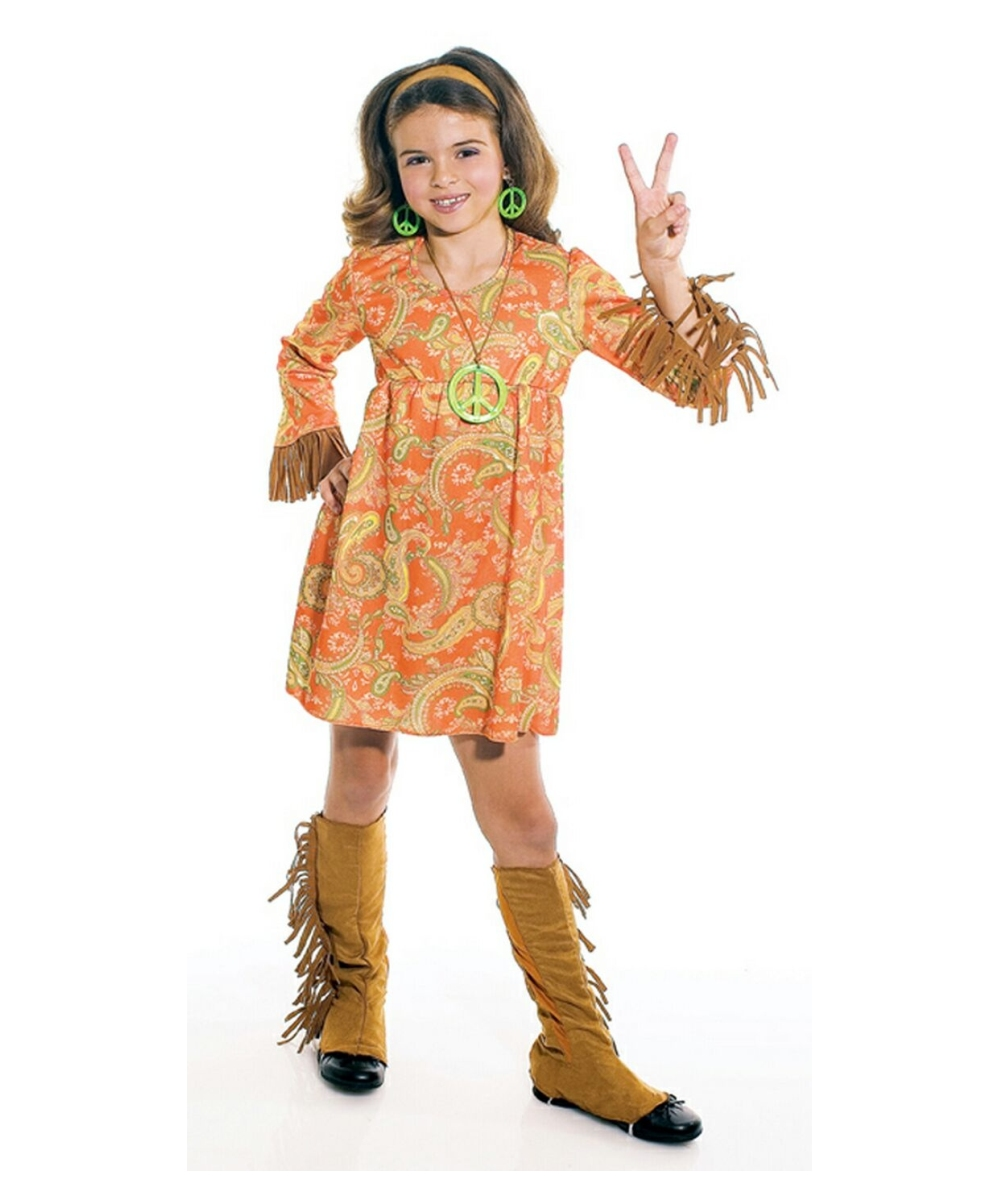 Groovy Kid Costume - Kids Costume - Hippie Halloween Costume at Wonder Costumes  sc 1 st  Wonder Costumes & Groovy Kid Costume - Kids Costume - Hippie Halloween Costume at ...