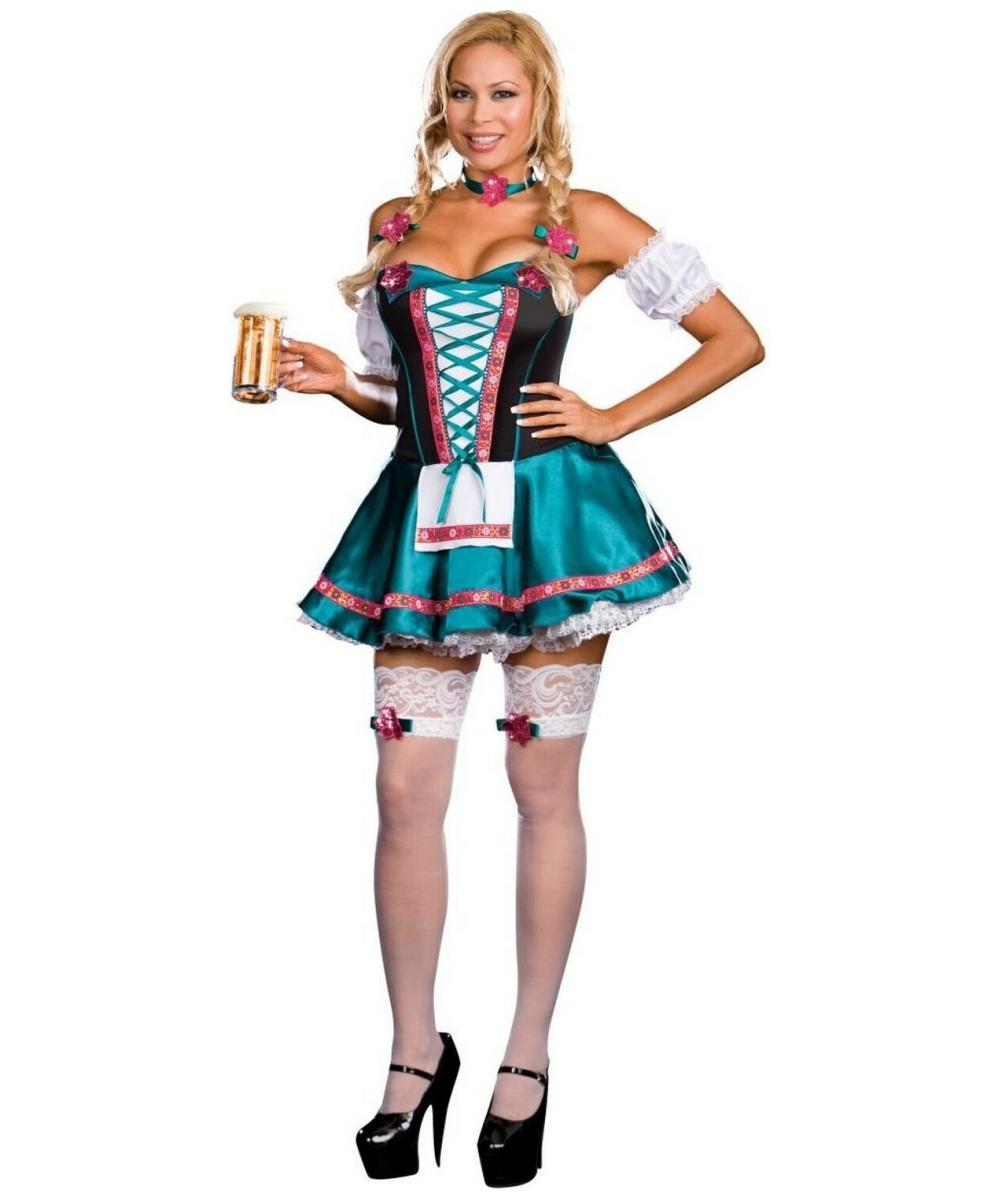 Oktoberfest Fraulein Plus size Women Costume - Holiday