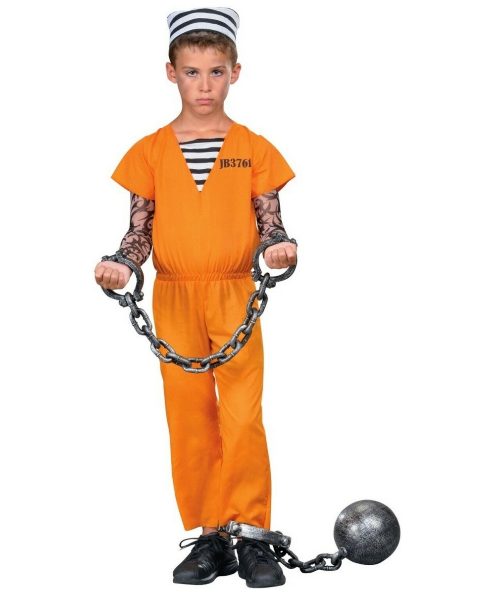Jail Breaker Costume - Kids Costume - Halloween Costume at Wonder Costumes  sc 1 st  Wonder Costumes : jail costume for kids  - Germanpascual.Com
