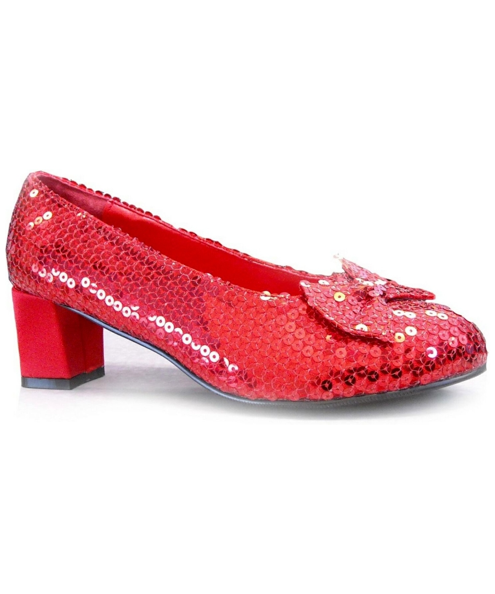 Toddler Size  Red Sequin Shoes