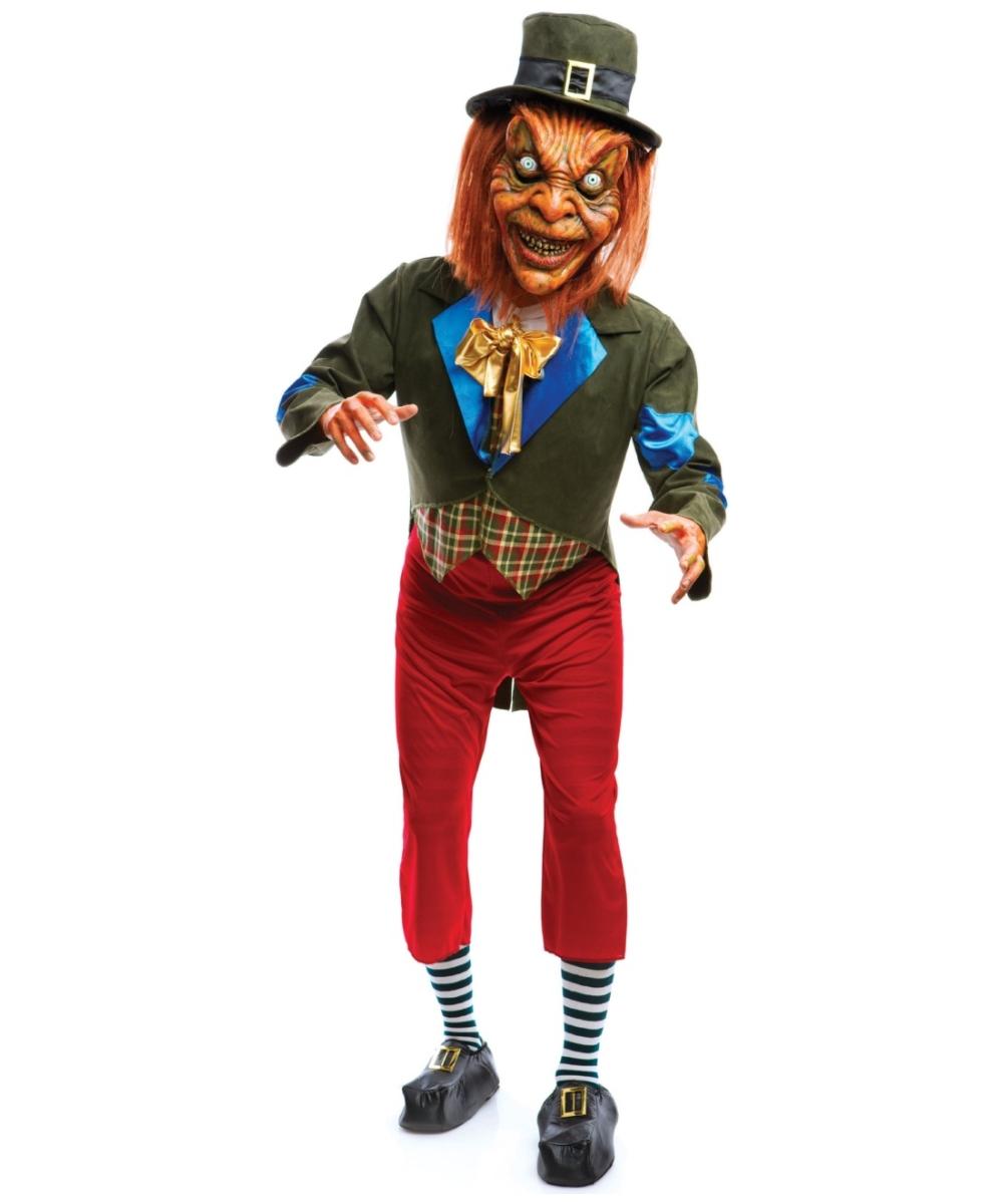 adult leprechaun sexy costume men halloween costumes