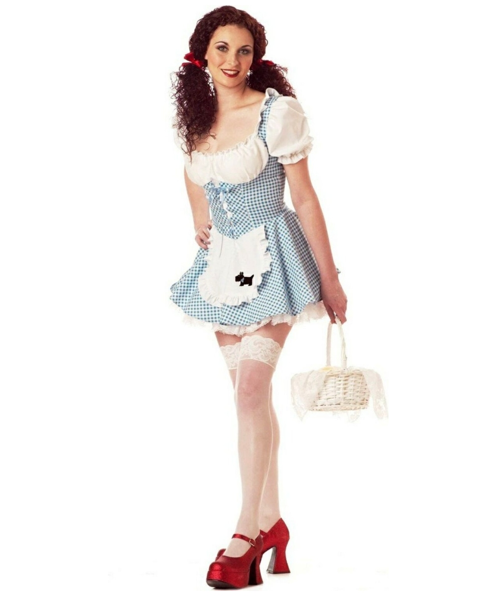 Adult Miss Dorothy Movie Costume - Women Movie Costumes-3048