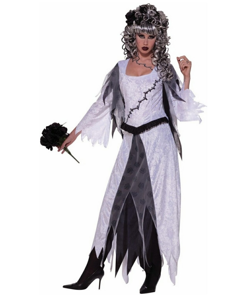 sc 1 st  Wonder Costumes & Monster Bride Dress Adult Costume - Women Bride Costumes