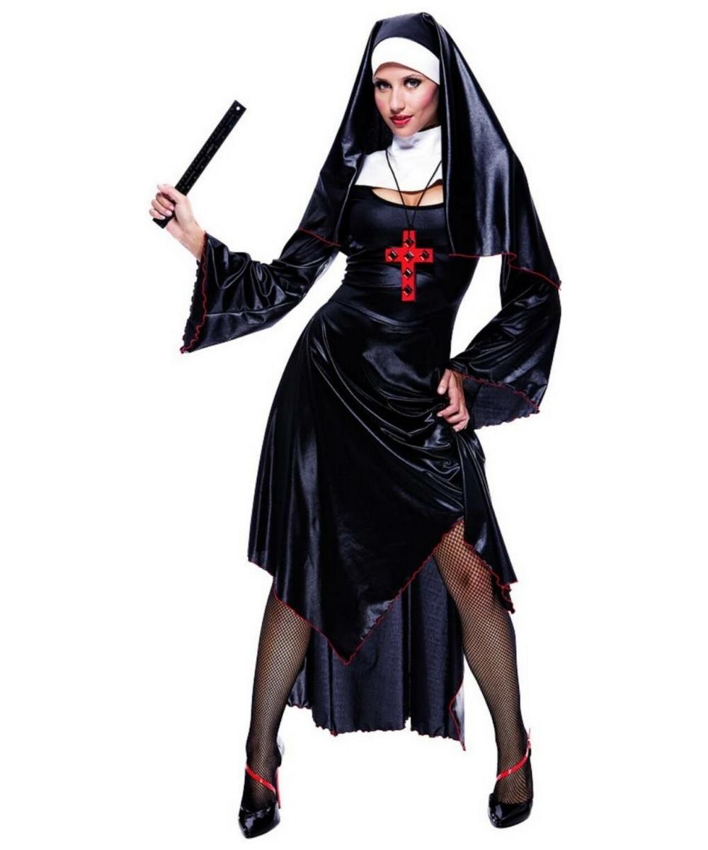 Naughty Nun Costume - Adult Costume - Halloween Costume at Wonder Costumes  sc 1 st  Wonder Costumes & Naughty Nun Costume - Adult Costume - Halloween Costume at Wonder ...