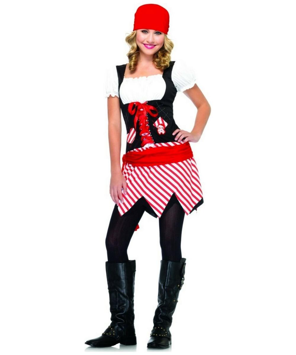 Pirate Lass Teen Costume - Pirate Costumes