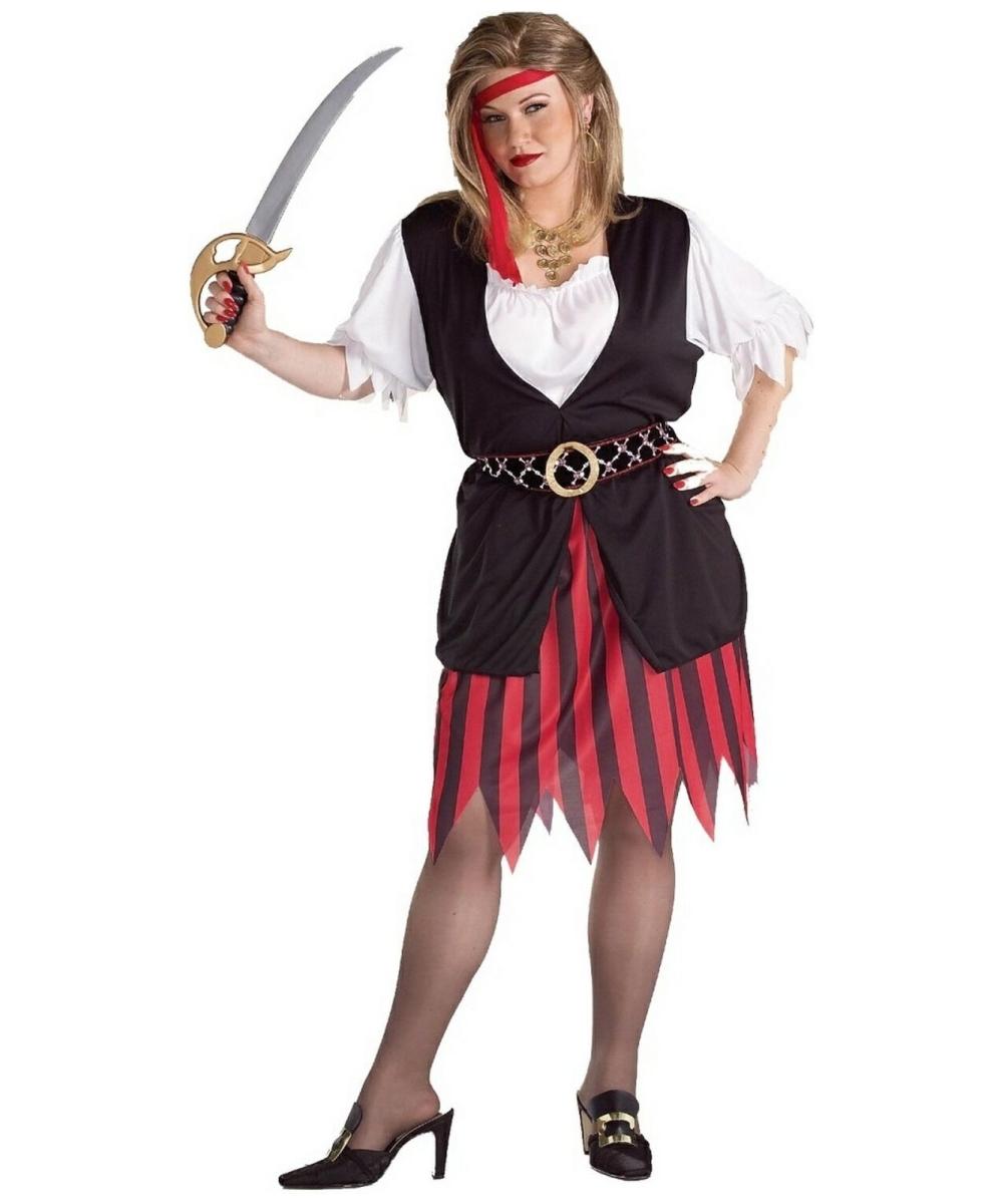 adult pirate woman plus size halloween costume women