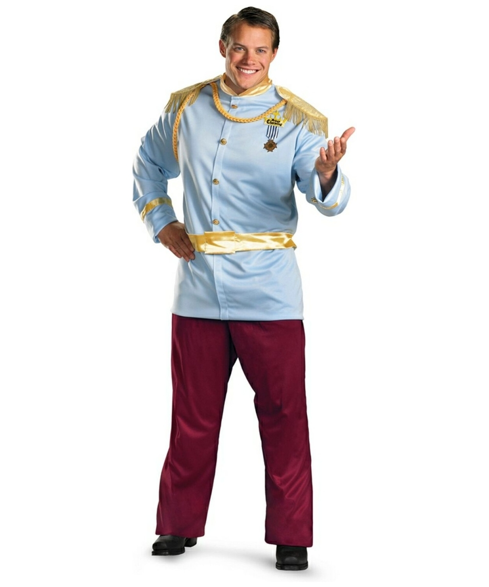 Adult Prince Charming Disney Princess Costume Men Prince