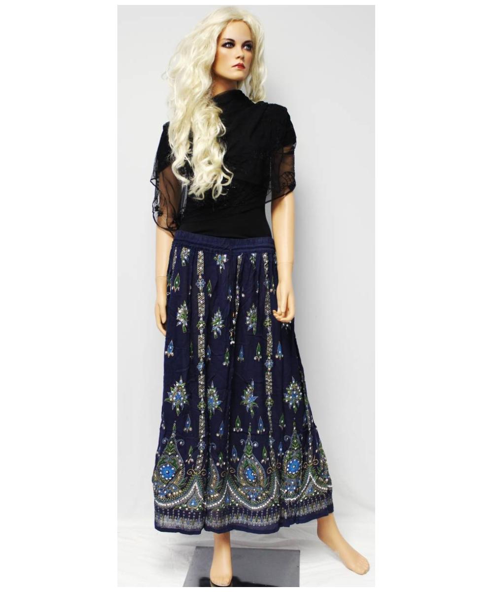 Bohemian Peasant Bohemian Long Skirt
