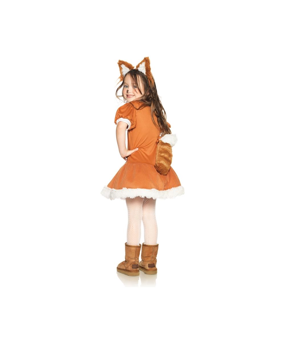 Feisty Fox Girl Costume Costumes